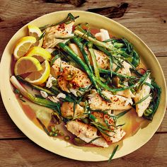 Butter-Roasted Halibut Recipe | Bon Appétit Best Halibut Recipes, Fish Recipes, Salad Recipes, Seafood Recipes, Grilling Recipes, Cooking Recipes, Healthy Recipes, Amigurumi, Seafood