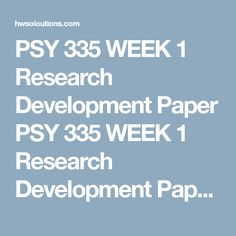 Psy  Week  Research Proposal Presentation Psy  Week