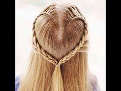 ¿Estás inlove? Demuéstralo con tu peinado.  #trenzas #corazón #inlove
