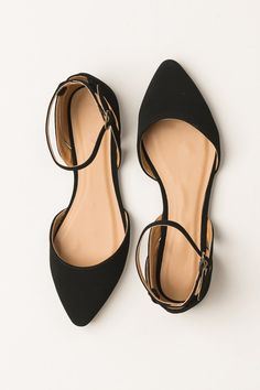 Travel Light Flats in Black | ShopDressUp.com More