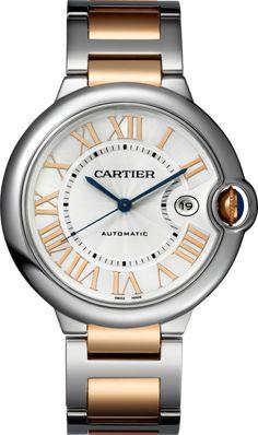 #Cartier Ballon Bleu De Cartier Pink (Rose) Gold #Watch
