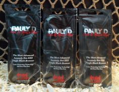 Pauly D   Single Ready To Tingle   Tanning Lotion Packets