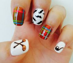 Nail Art Tutorial: Father's Day Nails | NailIt! Magazine