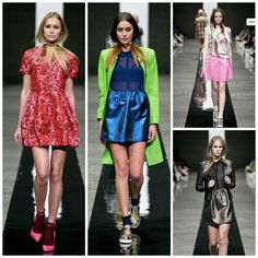 The COOP A/W14 collection by Trelise Cooper at New Zealand Fashion Week.