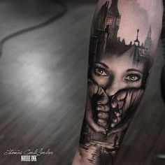 tear rolling down. Soneones hsnds over my mouth darkness in back. B&G Tattoo Artwork Artist IG: Forearm Tattoos, Body Art Tattoos, Girl Tattoos, Sleeve Tattoos, Tattoos For Guys, Tatoos, Tattoo Ink, Tattoo Fonts, Sketch Tattoo