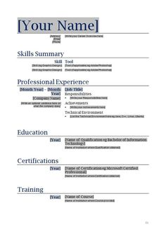 sample resume templates word document How To Do A Job Resume Examples. Example Of Resume For Applying . Format Cv, Resume Format Download, Sample Resume Format, Job Resume Samples, Basic Resume, Simple Resume, Professional Resume, Cover Letter Template, Cover Letters