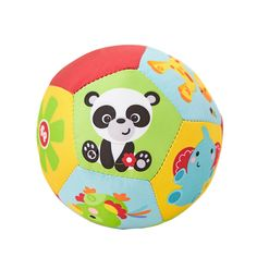 Baby Toys Animal Ball Soft Stuffed Toy Balls Baby Rattles Infant Babies Body Building Ball For 0-12 Months - BYC100 PT20