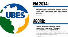 Recordar é viver: na gestão de Dilma Rousseff, a UBES defendia a Reforma do Ensino Médio