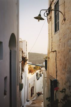 Chora town on the island of Amorgos, in the Greek Islands | Greece