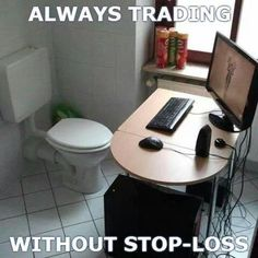 Never stop #Trading