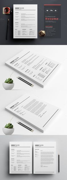 Modern Resume   CV Template Resume Templates Resume Templates - cv and resume templates