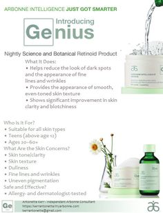 Genius Nightly Resurfacing Pads by Arbonne GOODBYE: #agespots #sunspots #acnescarring #dullskin HELLO: #radiant #bright #youthful #healthy #clearskin