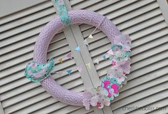 Bakers twine wreath
