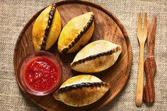 Saltenas from Bolivia. Click to read our travel guide.