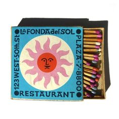 A Lovely Collection Of Bright & Cheerful Mid-Century Graphic Design - DesignTAXI.com