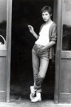 ジェーン・バーキン(Jane Birkin) 白Tクイーンの着こなしその③