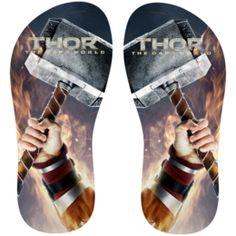 Estampa para chinelo Thor 001129