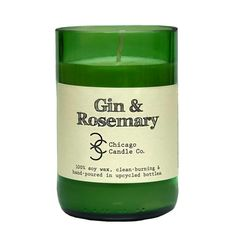 Gin & Rosemary – Chicago Candle Co.