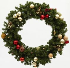 Try a Seasonal Wreath to match your trees