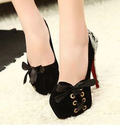 Fashion sexy high heeled shoes high heeled shoes 14cm women's platform shoes 2013 spring thin heels single shoes-inPumps from Shoes on Aliex...