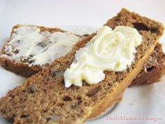 Gluten free, sugar free banana nut bread