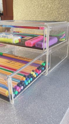 Organizador de acrilico para tu escritorio