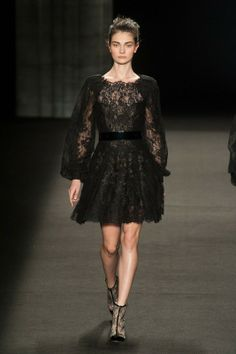 Monique Lhuillier - Fall-Winter 2014-2015 New York Fashion Week