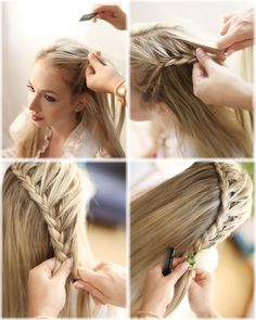 1000 images about frisuren on pinterest undercut hochzeit and french braids. Black Bedroom Furniture Sets. Home Design Ideas