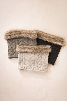 Get ready for the cooler months this coming fall and winter, with this fur trim kintted snood. For yourself or as a gift, this comfy/cozy snood would make an id Deal Today, Fall Winter 2015, Whats New, Daily Deals, Fur Trim, Stay Warm, Scarves, Cozy, Cool Stuff