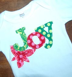 Girls size 12  18 month Christmas Shirt  Ready To by modernfrills, $29.95