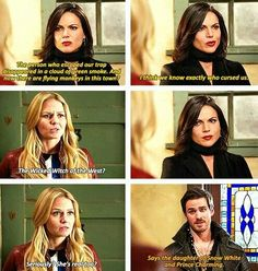 Once Upon A Time Hook, Emma and Rigina