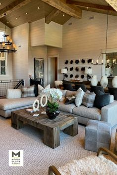 Custom residence interior design in Park City, completed in 2020 by Moody Design Group of San Diego, California. Modern Interior, Interior Styling, Interior And Exterior, Interior Decorating, Living Room Decor Inspiration, Interior Design Services, Park City, Interiores Design, Living Room Designs