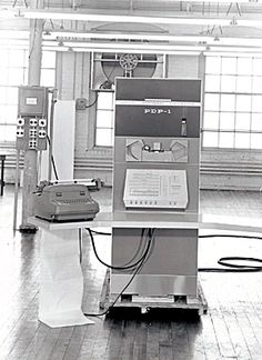 """1960 - November:  The PDP-1, the world's first small, interactive computer is delivered to Bolt, Beranek and Newman (BBN).  From a technical bulletin on the PDP-1, dated March 1960: """"...a compact, solid state general purpose computer with an internal instruction execution rate of 100,000 to 200,000 operations per second. PDP-1 is a single address, single construction, stored program machine with a word length of 18-bits operating in parallel on 1's complement binary numbers."""""""