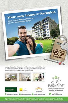 Parkside Lifestyle Destination & Residences - Your NEW HOME @ Parkside. Tel: 54 23 50 72 / 58 20 62 00 / 467 7002