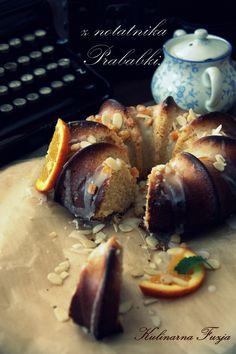 Moja babka/ My cake   http://kulinarna-fuzja.blogspot.com/2013/03/babka-mojej-prababki.html