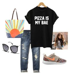 """""""Wish You Were Here"""" by gigihead on Polyvore featuring Hollister Co., WithChic, NIKE, Mara Hoffman and MINKPINK"""