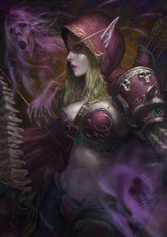 Sylvanas Windrunner by Warmics.deviantart.com on @DeviantArt - More at https://pinterest.com/supergirlsart #warcraft #wow #fanart