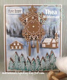 Marianne Design Blog: Kerst koekoeksklok