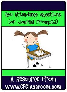 Taking attendance questions - I do this every day, but always run out of good questions about 2/3 of the way through the year!