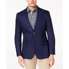 Tasso Elba Men s Linen 2-Button Blazer 40f7ac9e109
