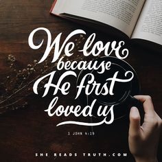 Day 6 of the Song of Songs Bible-reading plan from She Reads Truth. ~ Grace Day ~ Today's Text: 1 John 4:19 [...]