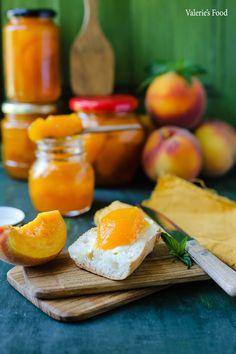 DULCEAȚĂ DE PIERSICI | Rețetă   Video Cantaloupe, Cheese, Dinner, Fruit, Gem, Food, Canning, Pie, Dining