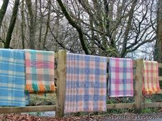 Unused carthen from Cambrian Mills FBN13 - NEW Welsh blankets New Welsh Blankets