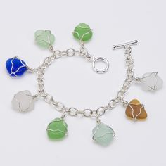 Sue Gray Seaglass Jewelry - The best!!! Love this bracelet!