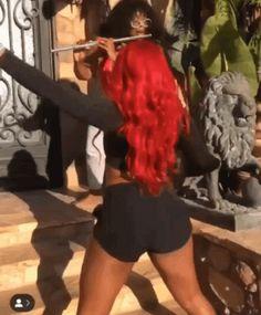 Megan Thee Stallion Twerking GIF - MeganTheeStallion Twerking Lizzo - Discover & Share GIFs Twerk Workout, Best Twerk Video, White Girls Twerk, Black Girls Videos, Rihanna Style, Black Girl Fashion, Girl Dancing, New People, Black Girl Magic