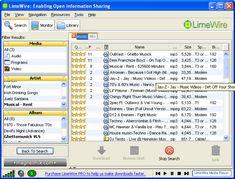 Qué fácil era bajar la canción que se oía en la radio con LimeWire. | 25 cosas que dábamos por hechas en la década del 2000