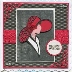 Stamps and Paper: Tattered Lace. 60th Birthday Cards, Handmade Birthday Cards, Greeting Cards Handmade, Art Deco Cards, Tattered Lace Cards, Stamping Up Cards, Die Cut Cards, Create And Craft, Card Sketches