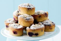These cute and tasty friands are perfect for Christmas morning.