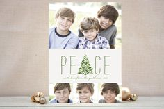 Arbor Peace Christmas Photo Cards by Melanie Sever...   Minted