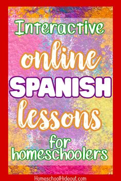 Using these fun Spanish lessons has made all the difference. My kids actually look forward to Spanish now! Spanish Lessons For Kids, French Lessons, Teaching Spanish, Spanish Activities, Teaching French, French Teacher, Learn To Speak Spanish, Learn Spanish Online, Spanish Practice